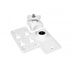 Set bracket alb de perete pentru ODP-204/206, OMNITRONIC Wall Bracket for ODP-204/206 white 2x