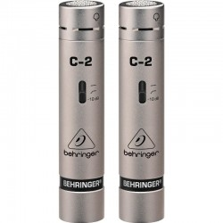 Set microfoane condenser de studio Behringer C2
