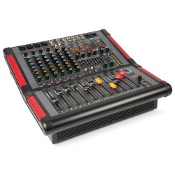 Mixer amplificat 8 canale cu USB siBT, 2x350W RMS Power Dynamic PDM-S804A