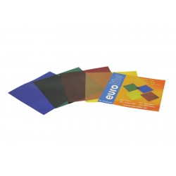Set filtre PAR-56 Eurolite Color-Foil Set 19x19cm, four colors