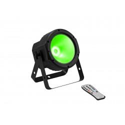 Proiector de podea RGBW cu telecomanda Eurolite LED SLS-30 COB QCL Floor