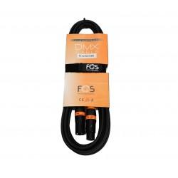 Cablu DMX 110 Ohm, 5m Fos FC-XLR3-5
