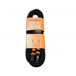Cablu DMX 110 Ohm, 10m Fos FC-XLR3-10