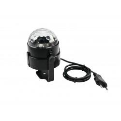 Efect lumini mirror ball LED, Eurolite LED BC-3