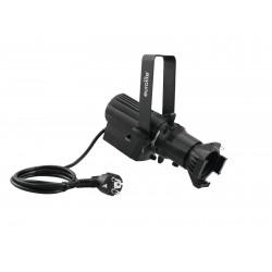 Profile spot negru 13 W LED, Eurolite LED PFE-10 3000K