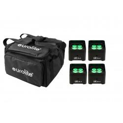 Set de 4 proiectoare de truss + husa, Eurolite Set 4x LED TL-4 Trusslight + Softbag
