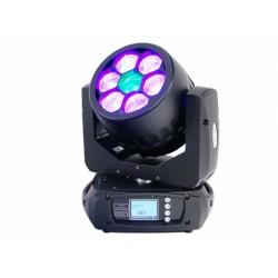Moving head wash cu LED, Fos Wash Q7