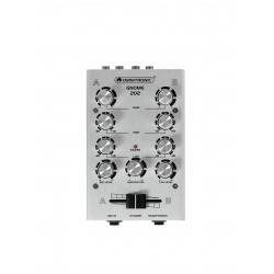 Mini-mixer DJ cu 2 canale, argintiu, Omnitronic GNOME-202 Silver