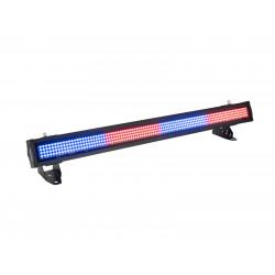 Bara LED RGBW de exterior, Eurolite IP T-PIX 8 QCL Bar
