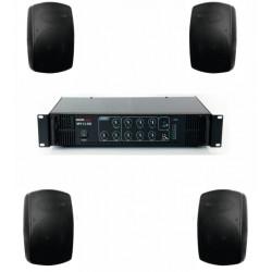 Pachet sonorizare terase ECO-2TR/BK