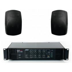 Pachet sonorizare terase MEDIUM-1TR/BK