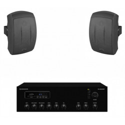 Pachet sonorizare terase MON-1TR/BK