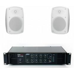 Pachet sonorizare terase ECO-1TR/WH