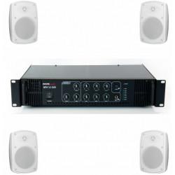 Pachet sonorizare terase ECO-2TR/WH