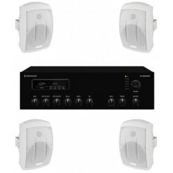 Pachet sonorizare terase MON-2TR/WH