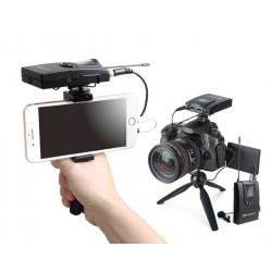 Sistem transmisie/receptie UHF wireless pentru camere video si smartphone Relacart CR-1