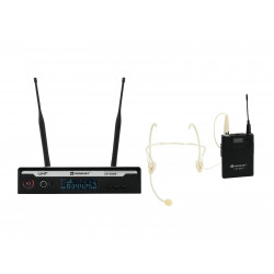 Set lavaliera headset wireless, Relacart Set UR-222S