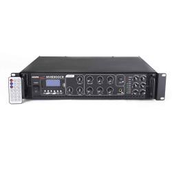Amplificator 100V 6 zone cu mp3 player si Bluetooth Master Audio MV8300CA BT