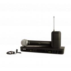Set microfon + lavaliera wireless Shure BLX1288E/CVL