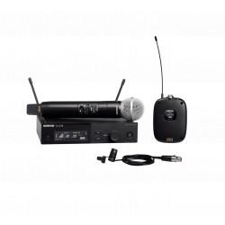 Set microfon + lavaliera wireless Shure SLXD124E/85
