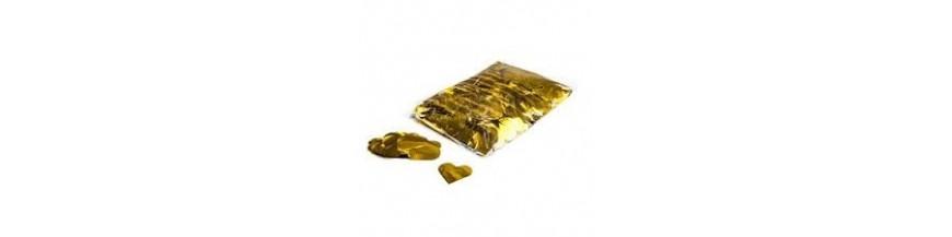 Consumabile - confetti metallic pvc cu forme